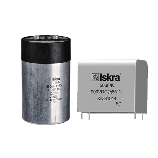DC link capacitors for renewable and automotive applications
