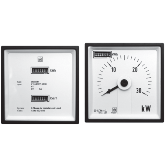 Energy Meters with Power Display
