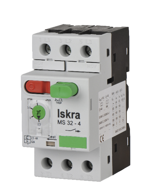 Motor Protection Switches MS32 - Motor Protection Switches - Iskra