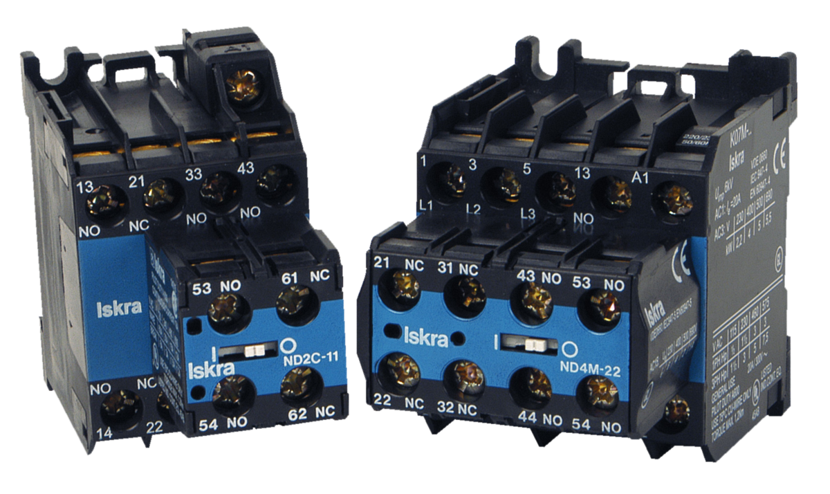 Low Voltage Switchgear Iskra Over Under Monitor Mini Contactors