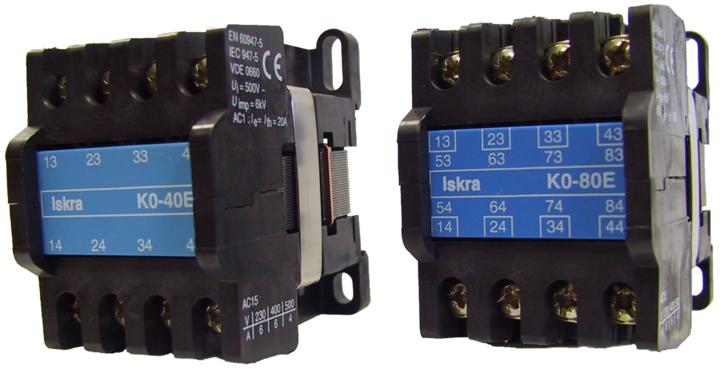Auxiliary Contactors K0