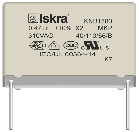 KNB1580 capacitor