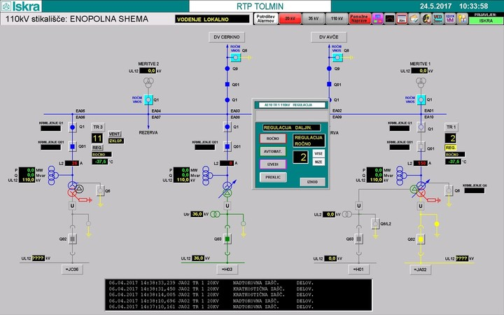 Control Data Acquisition Software MCE 940