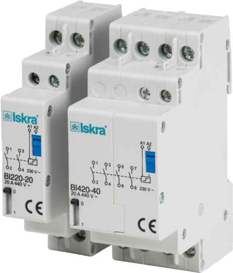 Latching relays / Bistable Switches - Bistable Switches - Iskra