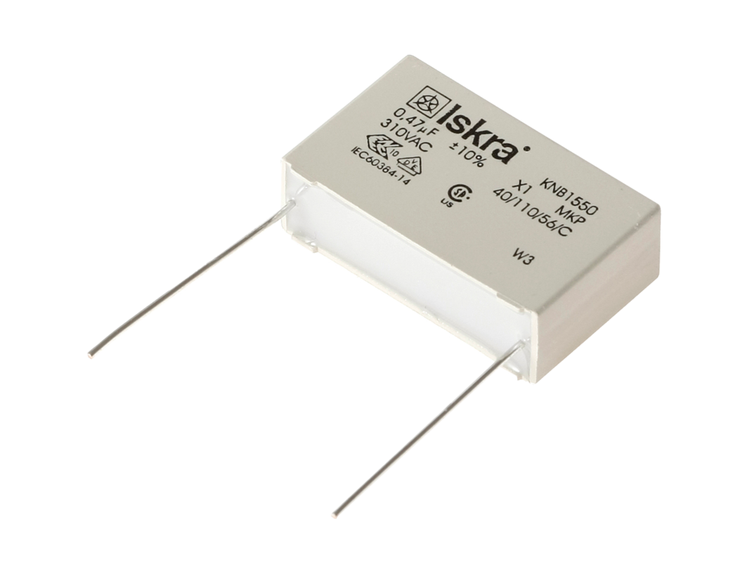 Polypropylene Film Capacitors Knb1550 Rfi Class X1 Components Resistors And In A Circuit Capacitor