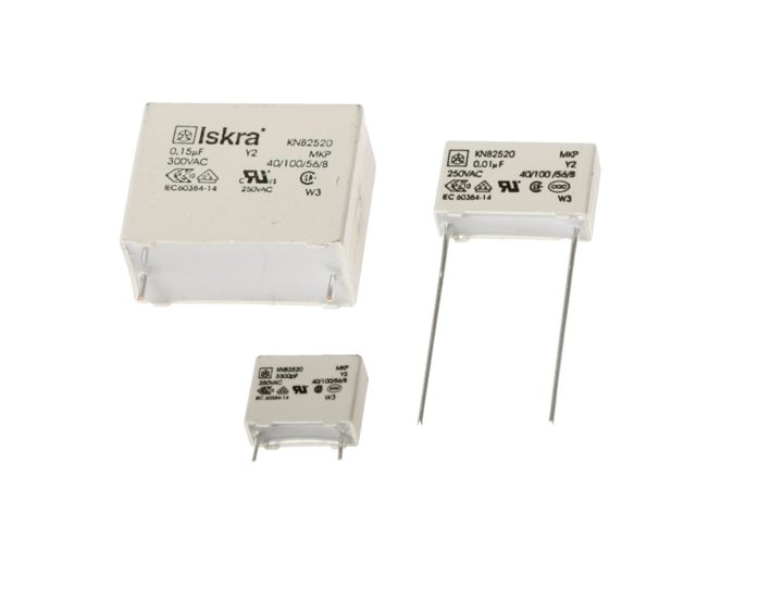 Polypropylene film capacitors KNB2520