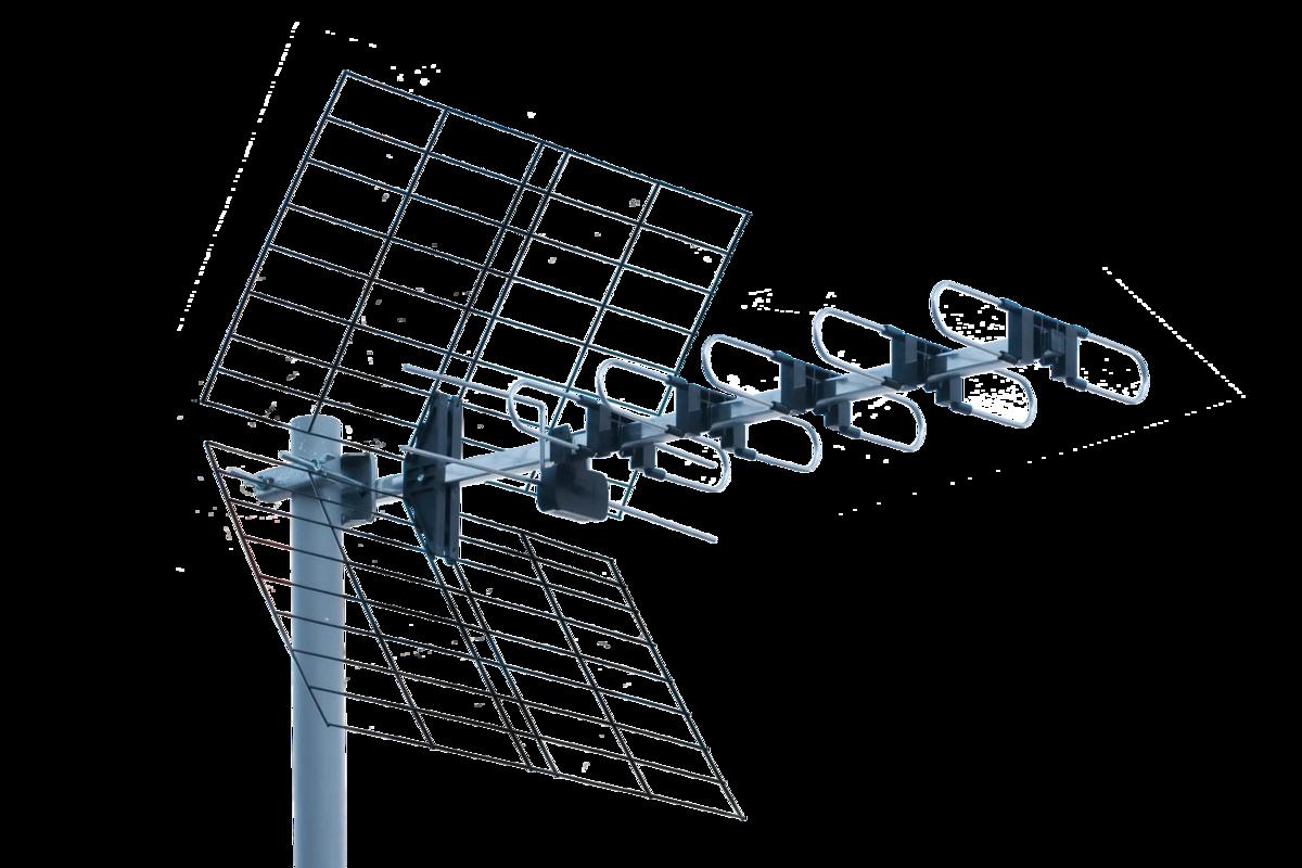 UHF TV Antenna DTX-22 - YAGI UHF - series DTX - Iskra