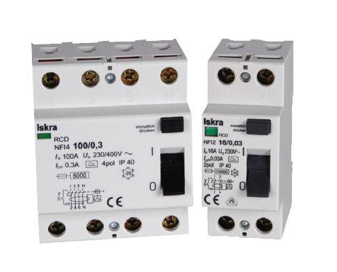 Residual Current Circuit Breakers FI, NFI