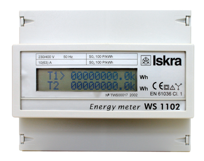 Energy Meters for DIN Rail Mounting
