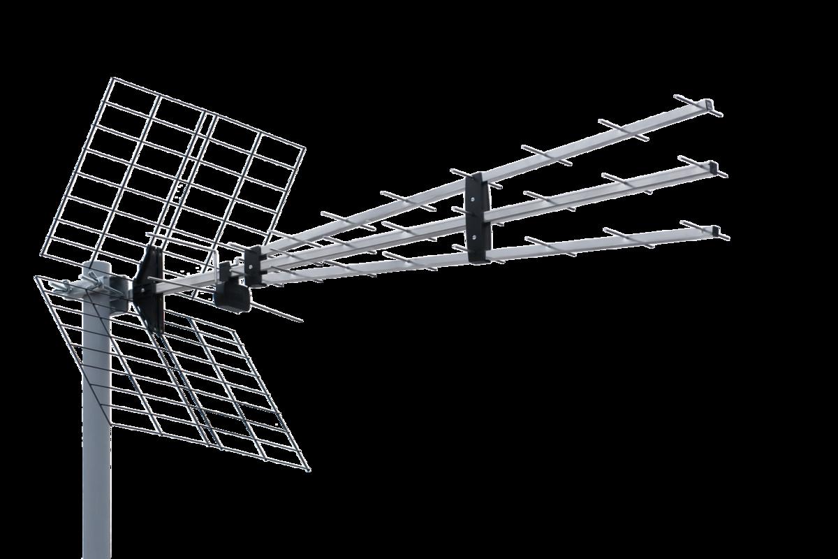 UHF TV Antenna P-43 N TRIPLEX - TV YAGI UHF Antennas - Iskra